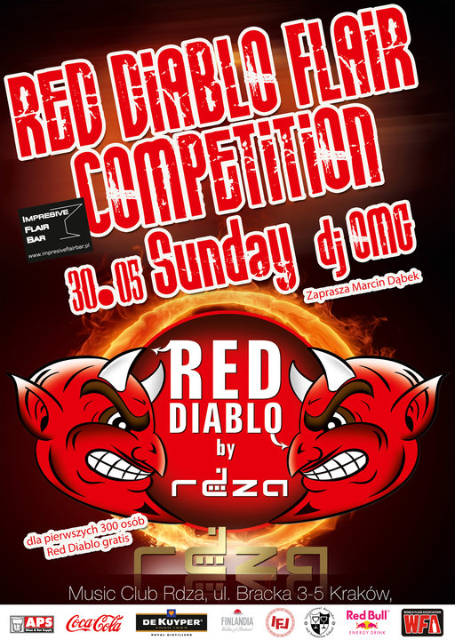 Red Diablo Flair Competition