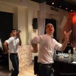Pokaz barmanów tandemowy