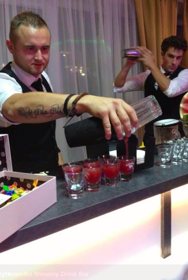 pomysl na impreze firmowa - barman